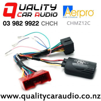 Aerpro CHMZ12C Steering Wheel Control Interface for Mazda from 2003 to 2014 non Amplified with Easy Payments