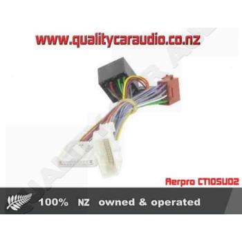 Aerpro CT10SU02 T harness for subaru - Easy LayBy on