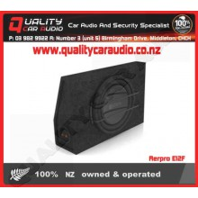 "Aerpro E12F 12"" LOADED SLIM SUBWOOFER BOX - Easy LayBy"