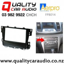 Aerpro FP8014 Stereo Facial Kit for Nissan Maxiam from 2009 to 2013 with Easy Finance