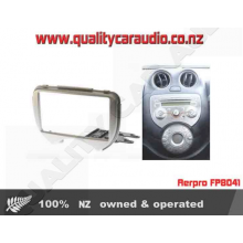 Aerpro FP8041 FACIA NISSAN MICRA 2011 ON SILVER - Easy LayBy
