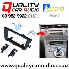 Aerpro FP8067 Double Din Stereo Facial Kits for Toyota Prius 2009 on (black) with Easy Finance