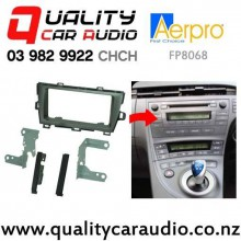Aerpro FP8068 Double Din Stereo Facial Kits for Toyota Prius 2009 on (silver) with Easy Finance