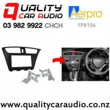 Aerpro FP8106 Double Din Stereo Fitting Kit for Honda Civic 2012 to 2014 with Easy Finance