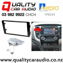 Aerpro FP8243 Double Din Stereo Facial Kit for Mitsubishi Triton 2016 onward with Easy Finance