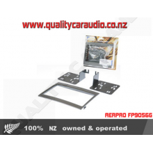 AERPRO FP9056G HOLDEN VY COMMODORE / MONARO DOUBLE DIN FITTING KITS IN GREY with Easy LayBy