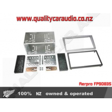 Aerpro FP9083S FACIA HOLDEN DBL DIN 2004 SIL - Easy LayBy