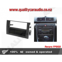 Aerpro FP9102 FACIA AUDI A4 S/DIN AND POCKET - Easy LayBy