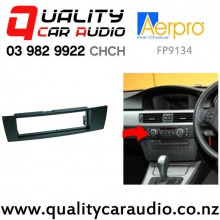Aerpro FP9134 Single Din Stereo Facial Kit for BMW 1 and 3 Series from 2004 to 2011 with Easy Finance