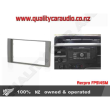 Aerpro FP9145M FORD FACIA DOUBLE DIN PLATE METALLIC FINISH with Easy LayBy