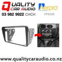 Aerpro FP9240 Double Din Stereo Fitting Kit for Ford Falcon AU Series I, II, III 1998 to 2002 (black) with Easy Finance