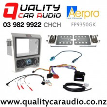 Aerpro FP9350GK Stereo Facial Kit for Holden Commodore from 2006 to 2011 with Single Air-con (Grey) with Easy Finance