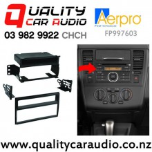 Aerpro FP997603 Facia Kits for Nissan TiiIda / Versa 06-10 Single/Double DIN with Easy Finance