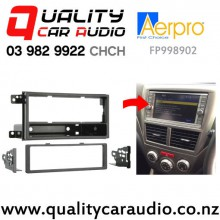 Aerpro FP998902 Single Din Stereo Facial Kit for Subaru Impreza from 2007 to 2011 with Easy Finance