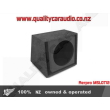 "Aerpro MSLOT12 Max core 12"" subwoofer box - Easy LayBy"