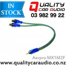 AERPRO MX1M2F 22CM 1M/2F RCA Y SPLITTER - Easy LayBy