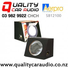 "Aerpro SB12100 Sealed 12"" 305mm Subwoofer Box with Easy Finance"