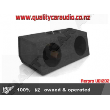 "Aerpro UB12D2 12"" ported Subwoofer double box - Easy LayBy"
