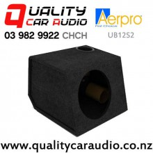 "Aerpro UB12S2 12"" Ported Subwoofer Box (Black) with Easy Finance"