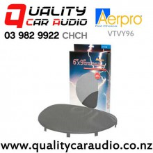 Aerpro VTVY96 Holden Commodore Rear Parcel Speaker Grilles in Grey Color (Pair)