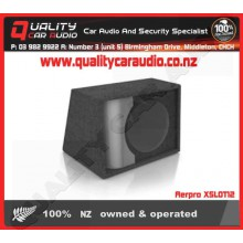 "Aerpro XSLOT12 12"" sq series sub box - Easy LayBy"