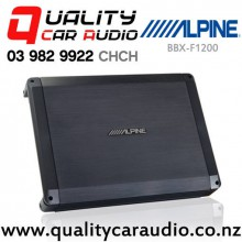 Alpine BBX-F1200 600W 4 Channel Car Amplifier with Easy LayBy