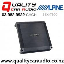 Alpine BBX-T600 300W (50W RMS) 2 Channel Class A/B Car Amplifier with Easy Finance