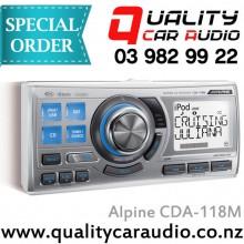 Alpine CDA-118M Marine CD USB receiver - Easy LayBy