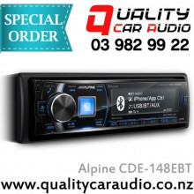 Alpine CDE-148EBT CD USB Aux Bluetooth Stereo - Easy LayBy
