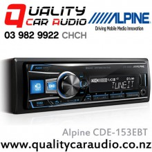 Alpine CDE-153EBT Bluetooth CD USB AUX NZ Tuners 3x Pre Outs with Easy LayBy