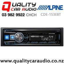 Alpine CDE-153EBT Bluetooth CD USB AUX NZ Tuners 3x Pre Outs Car Stereo with Easy Finance