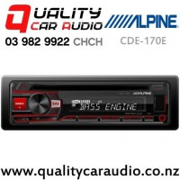 Alpine CDE-170E CD USB AUX NZ Tuner 2x Pre Out Car Stereo with Easy Finance