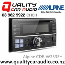 Alpine CDE-W233EH iPod CD MP3 WMA USB AUX NZ Tuners 1x Pre Out Car Stereo