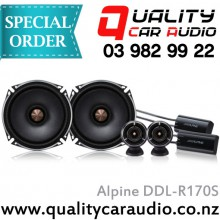 "Alpine DDL-R170S 6.5"" 160W 2 way Component Speaker - Easy LayBy"