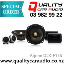 Alpine DLX-F17S 6.5 2 Way Component Speakers - Easy LayBy