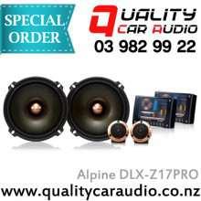 """Alpine DLX-Z17PRO 6.5"""" 200W Component Speakers - Easy LayBy"""