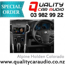 "Alpine Holden Colorado 8"" Fascia Kit and ISO wiring 2012 on - Easy LayBy"