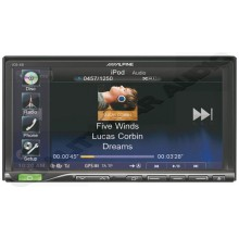 "Alpine ICS-X8 Bluetooth 7"" LCD DVD Receiver"