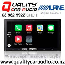 Alpine ILX-007E Bluetooth Apple CarPlay Android Auto USB AUX Car Stereo with Easy LayBy