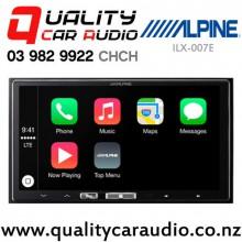Alpine ILX-007E Apple CarPlay USB AUX BT USB AUX Car Stereo with Easy Finance
