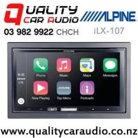 Alpine iLX-107 Wireless Apple CarPlay USB NZ Tuner 3x Pre outs Car Stereo with Easy Finance