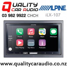 Alpine iLX-107 Wireless Apple CarPlay USB NZ Tuner 3x Pre outs Car Stereo with Easy Finance