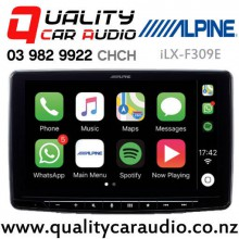 """Alpine iLX-F309E Halo9 9"""" Apple CarPlay Android Auto Bluetooth USB HDMI Media Receiver with Easy Payments"""