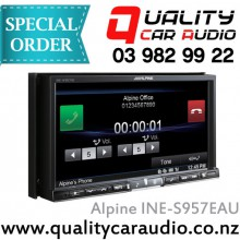 "Alpine INE-S957EAU 7"" DVD USB NAV Unit - Easy LayBy"