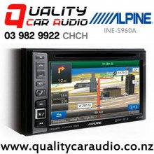 "Alpine INE-S960A 6.1"" Bluetooth Navigation DVD USB AUX Car Stereo with Easy LayBy"