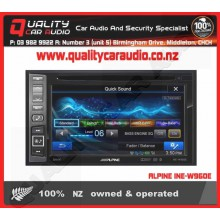 "ALPINE INE-W960E 6.2"" NAVIGATION BLUETOOTH DVD USB NZ TUNERS with Easy LayBy"