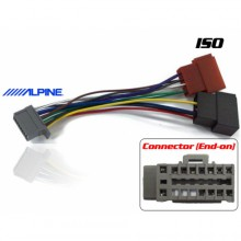 ALPINE TO ISO WIRING ADAPTER (GREY CONNECTOR)