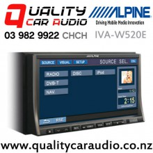 """Alpine IVA-W520E 7"""" DVD/CD/MP3/WMA/AAC iPhone Compatible Car Stereo with Easy Finance"""