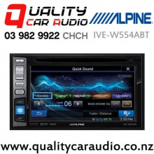 """Alpine IVE-W554ABT 6.1"""" Bluetooth DVD CD USB NZ Tuner 3x Pre Outs Car Stereo with Easy Finance"""