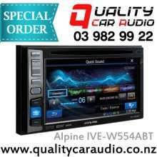 "Alpine IVE-W554ABT 6.1"" DVD CD BT Unit - Easy LayBy"